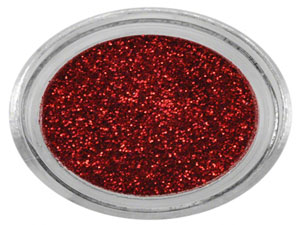 Paillettes rouge scintillantes