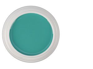 gel de couleur Aurora Green