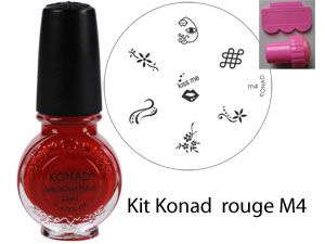 Kit Konad ROUGE M4