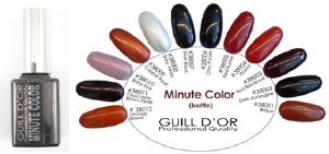 Gels de couleur Minute color - 10 ml